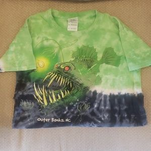Boys Tie-Dyed Outerbanks T-Shirt